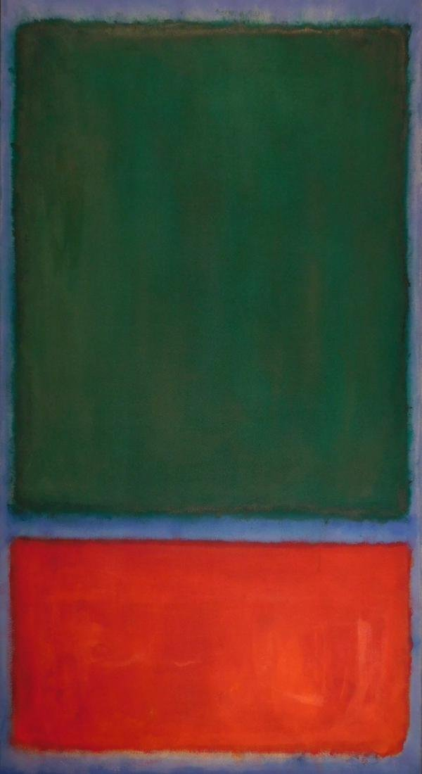Mark Rothko: Color Field (Red, Blue, Green) - 2