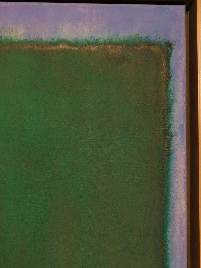 Mark Rothko: Color Field (Red, Blue, Green) - 3