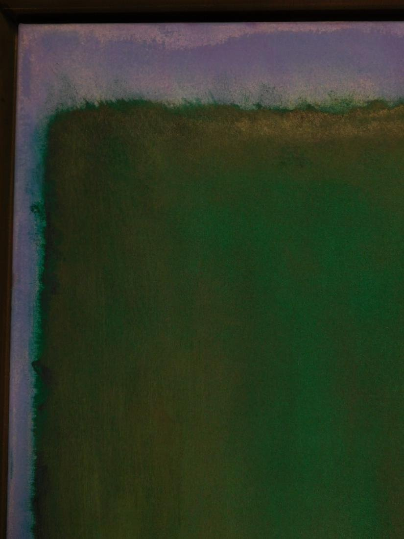 Mark Rothko: Color Field (Red, Blue, Green) - 4
