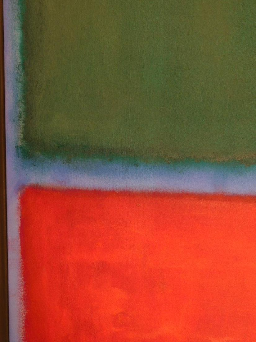 Mark Rothko: Color Field (Red, Blue, Green) - 5