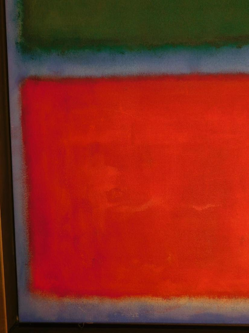 Mark Rothko: Color Field (Red, Blue, Green) - 7