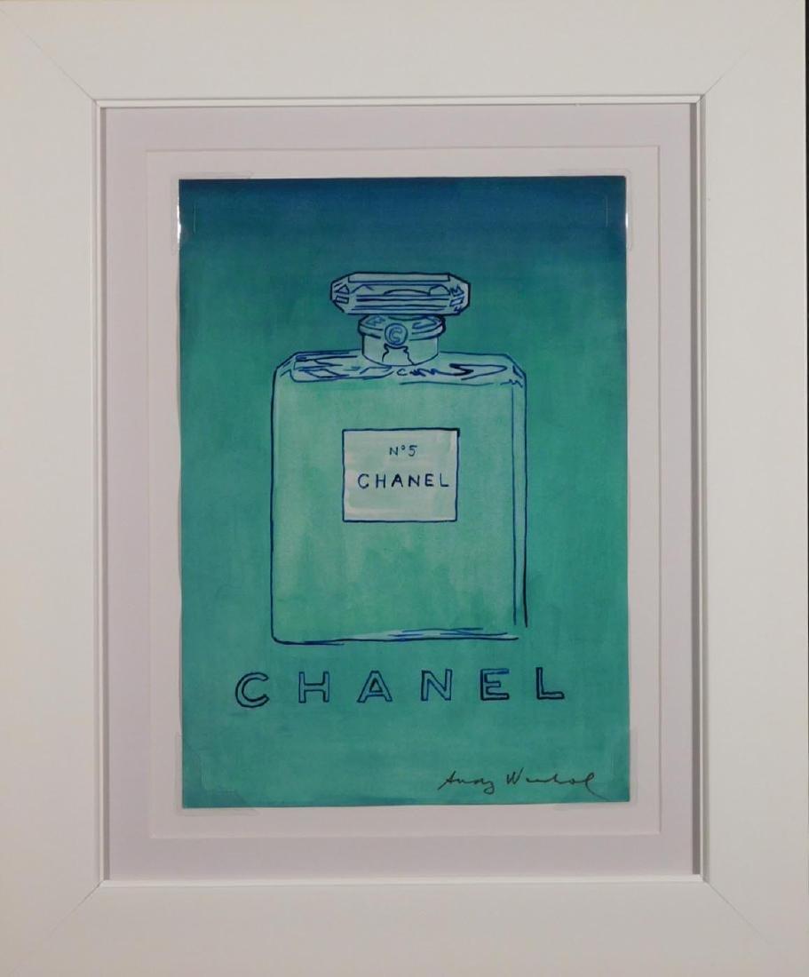 Andy Warhol: Untitled (Chanel No. 5), 1980