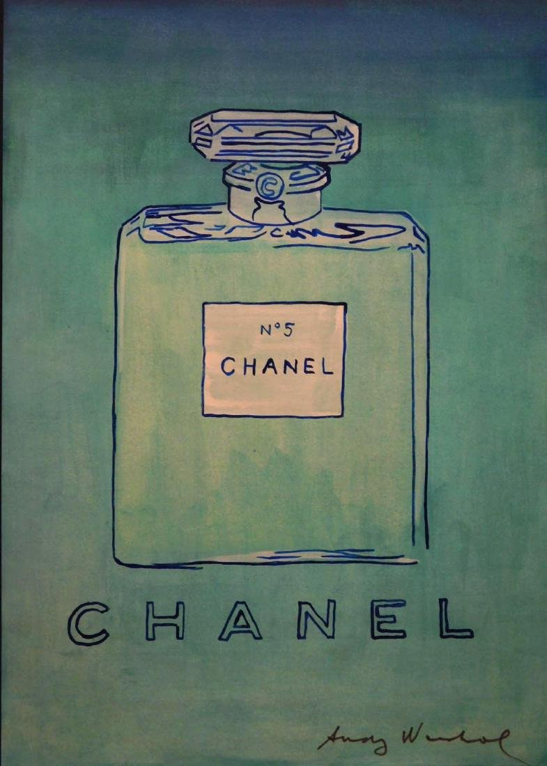 Andy Warhol: Untitled (Chanel No. 5), 1980 - 4