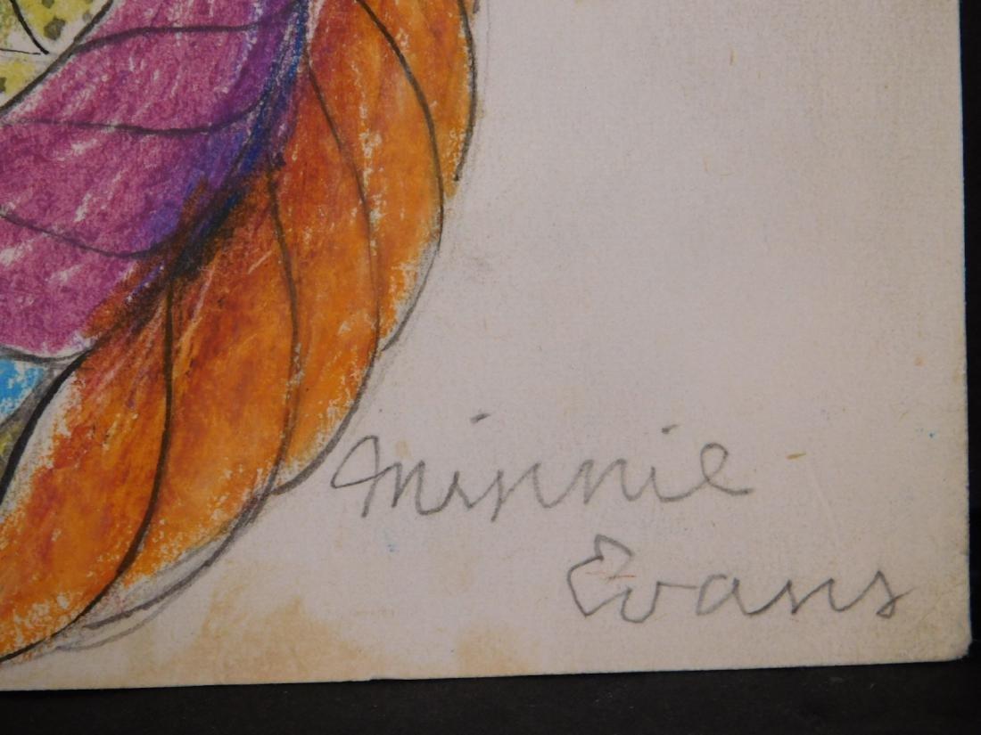Minnie Evans: Surrealist Portrait - 3