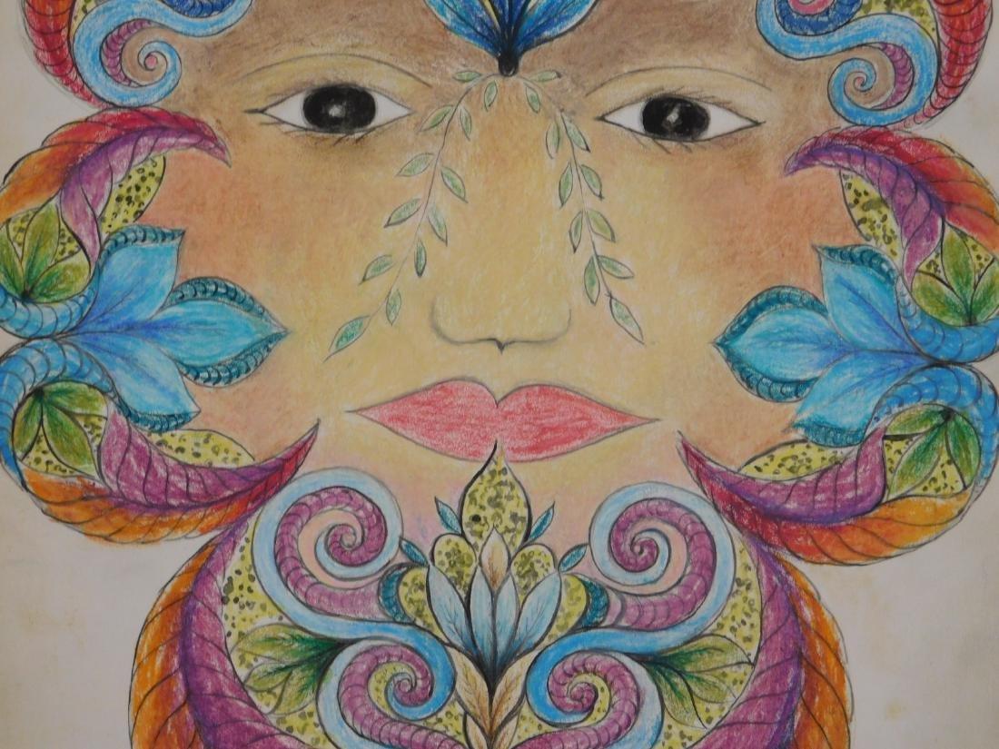 Minnie Evans: Surrealist Portrait - 5