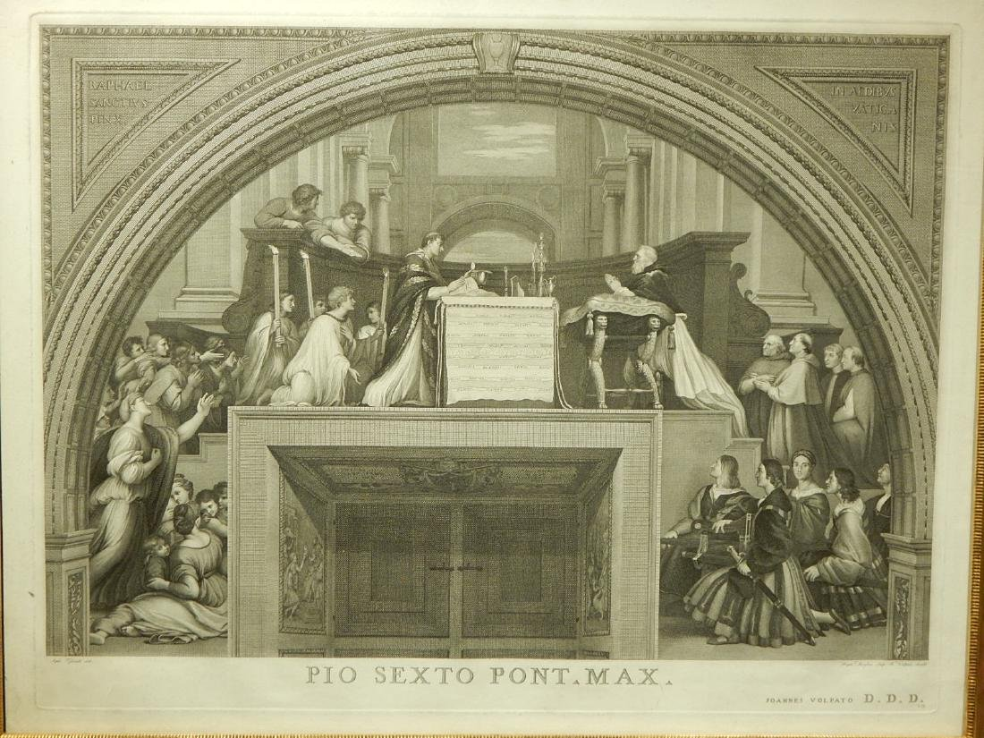 Joannes Volpato after Raphael: The Mass of Bolsena - 2