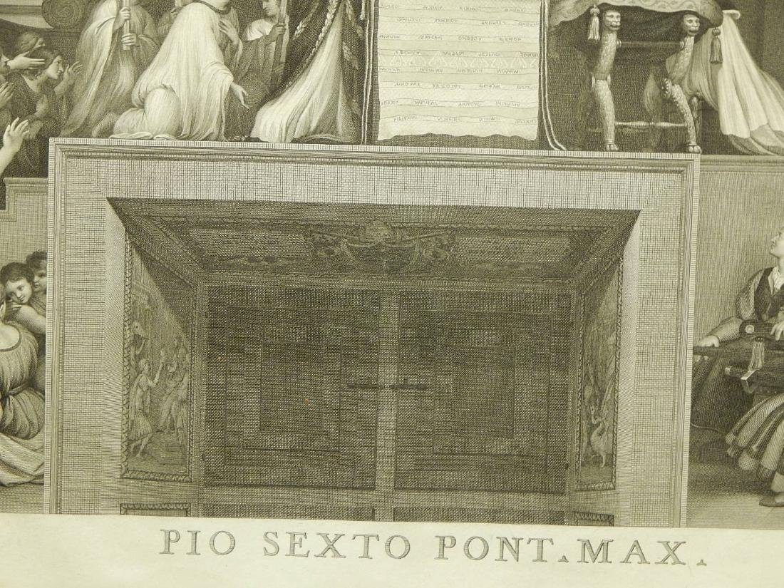 Joannes Volpato after Raphael: The Mass of Bolsena - 3