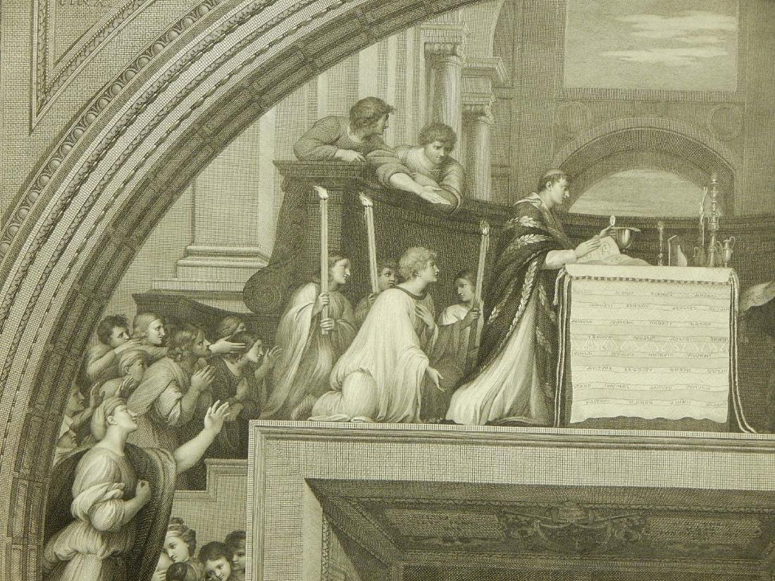 Joannes Volpato after Raphael: The Mass of Bolsena - 4