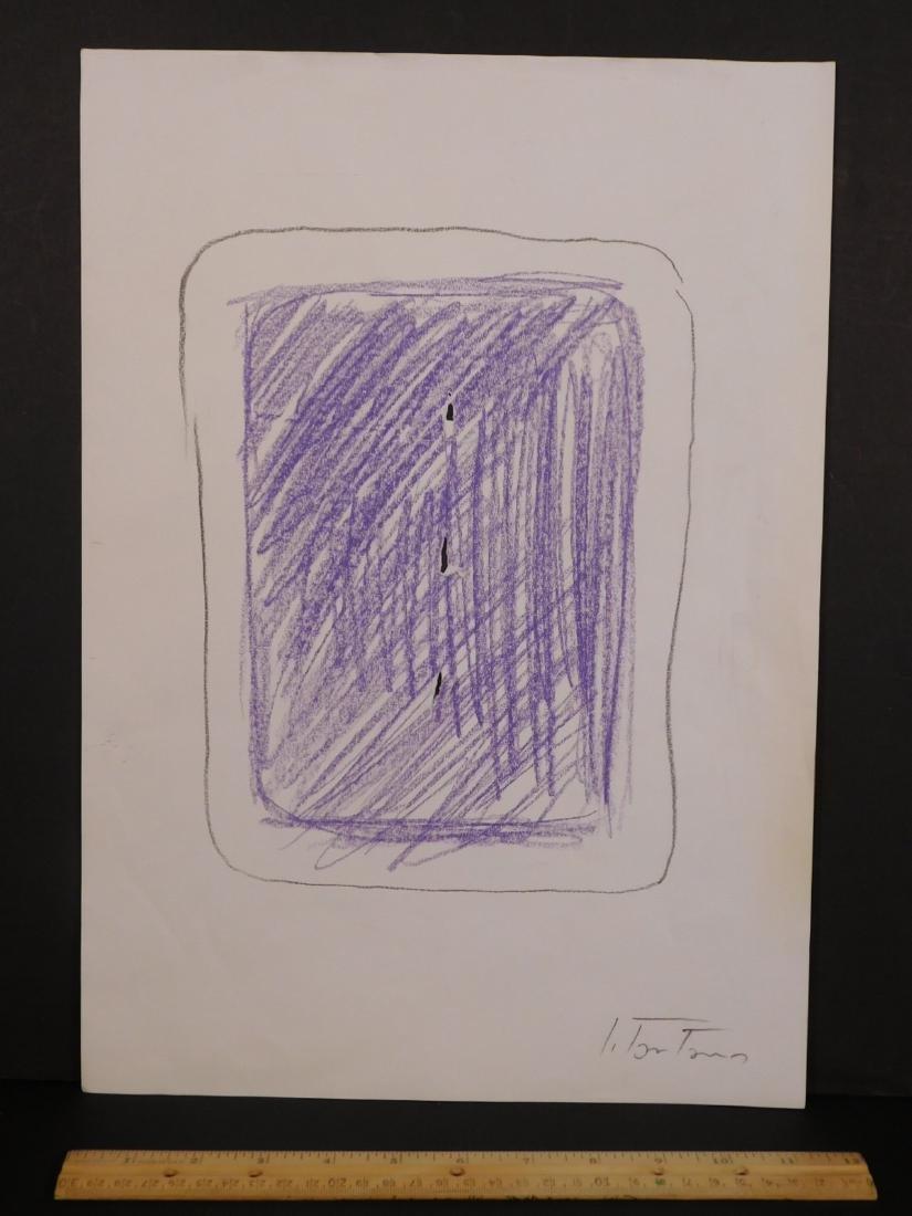 Lucio Fontana: Study for Concetti Spaziale - 2