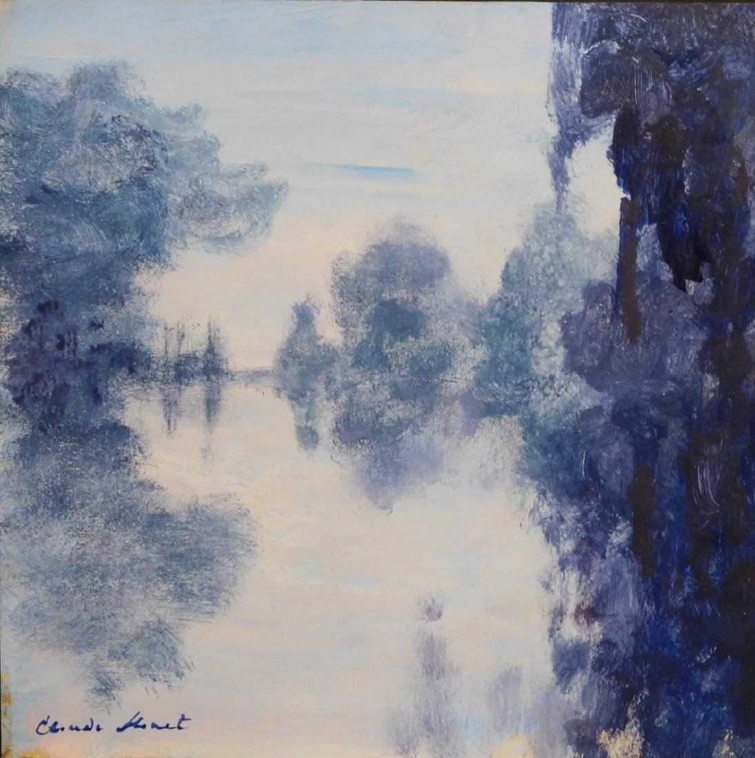 Claude Monet: Riverscape