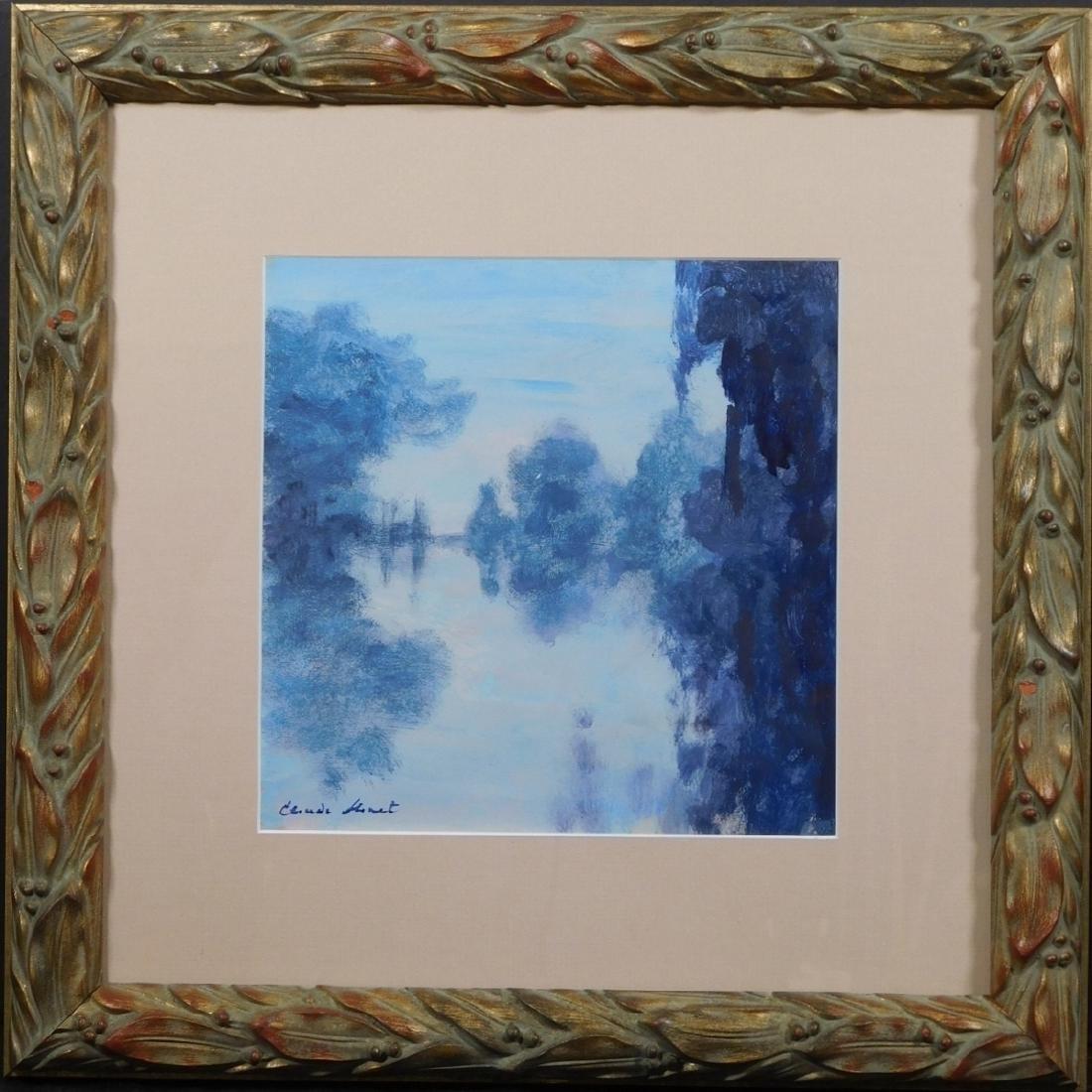 Claude Monet: Riverscape - 2