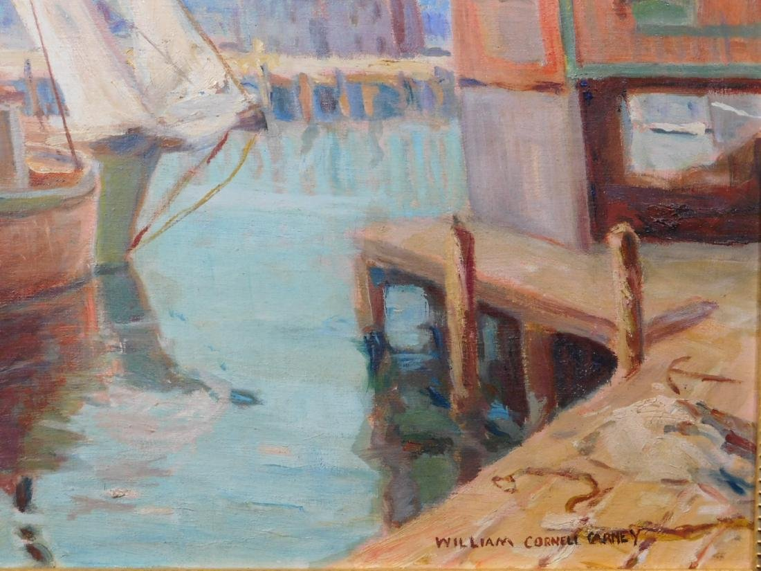 William Cornell Carney: Boat at the Dock - 6