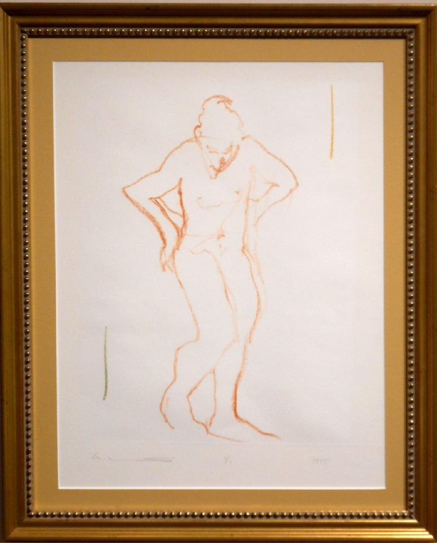 Follower of  Degas: Figure Study