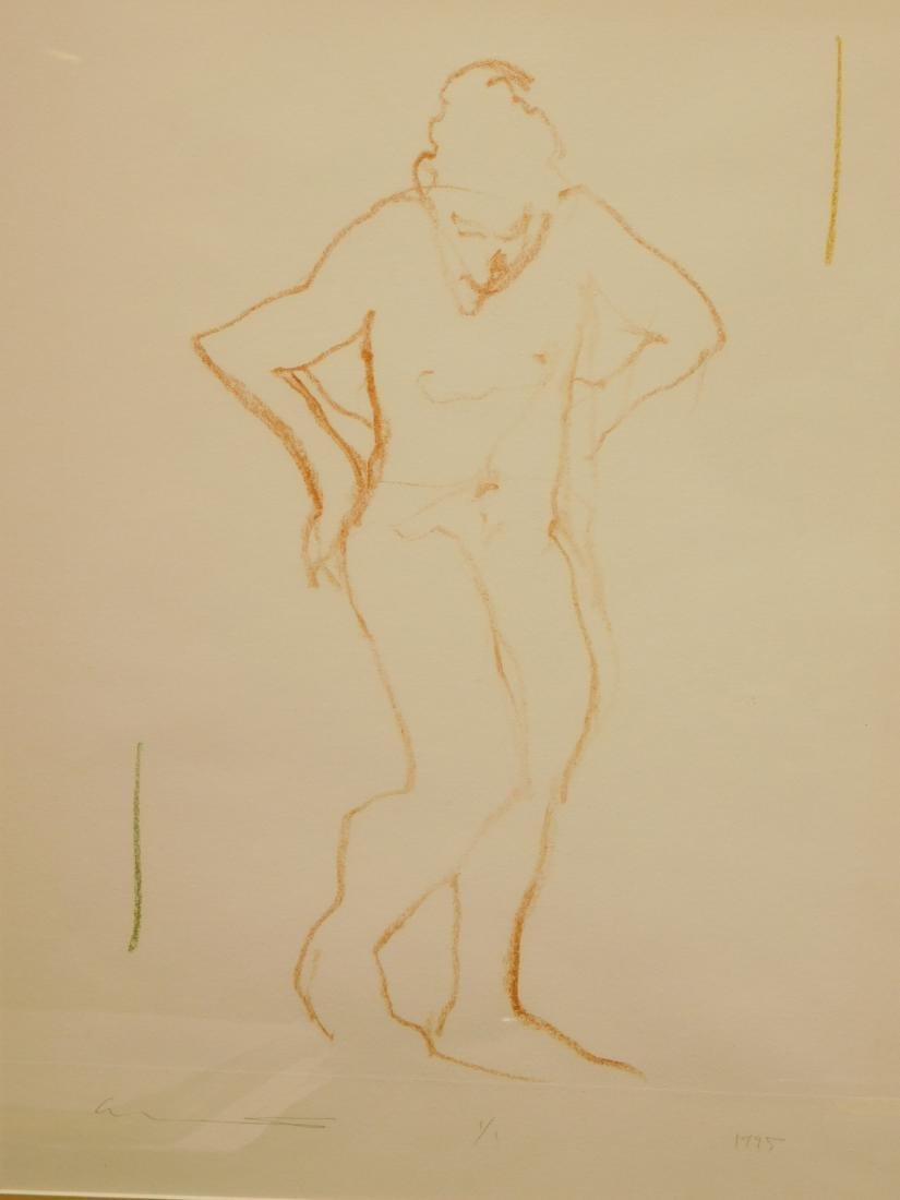 Follower of  Degas: Figure Study - 4