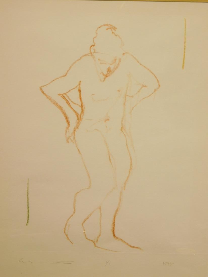 Follower of  Degas: Figure Study - 5