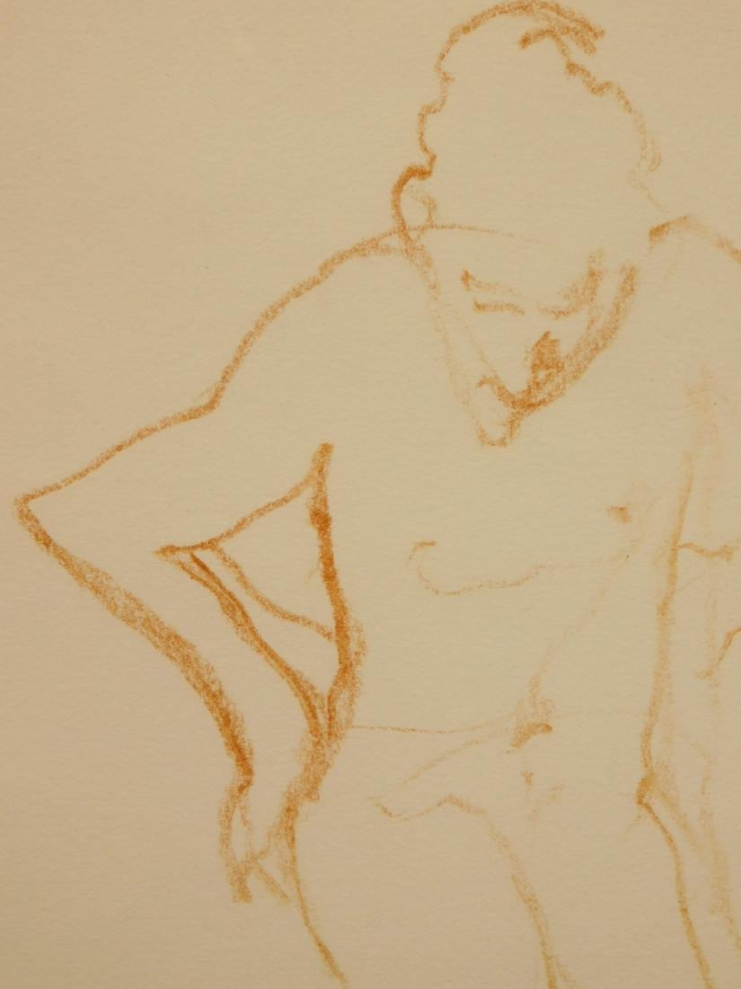 Follower of  Degas: Figure Study - 6