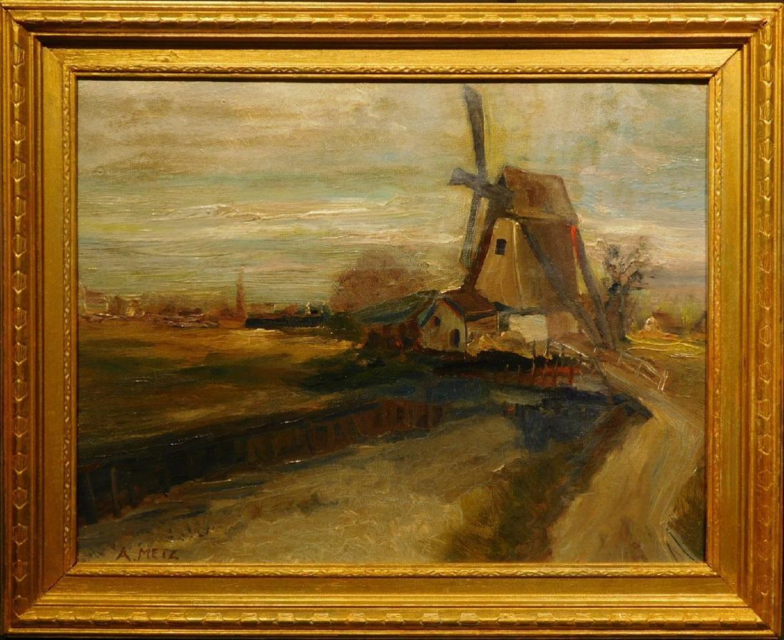 A. Metz: Farm Landscape - 4