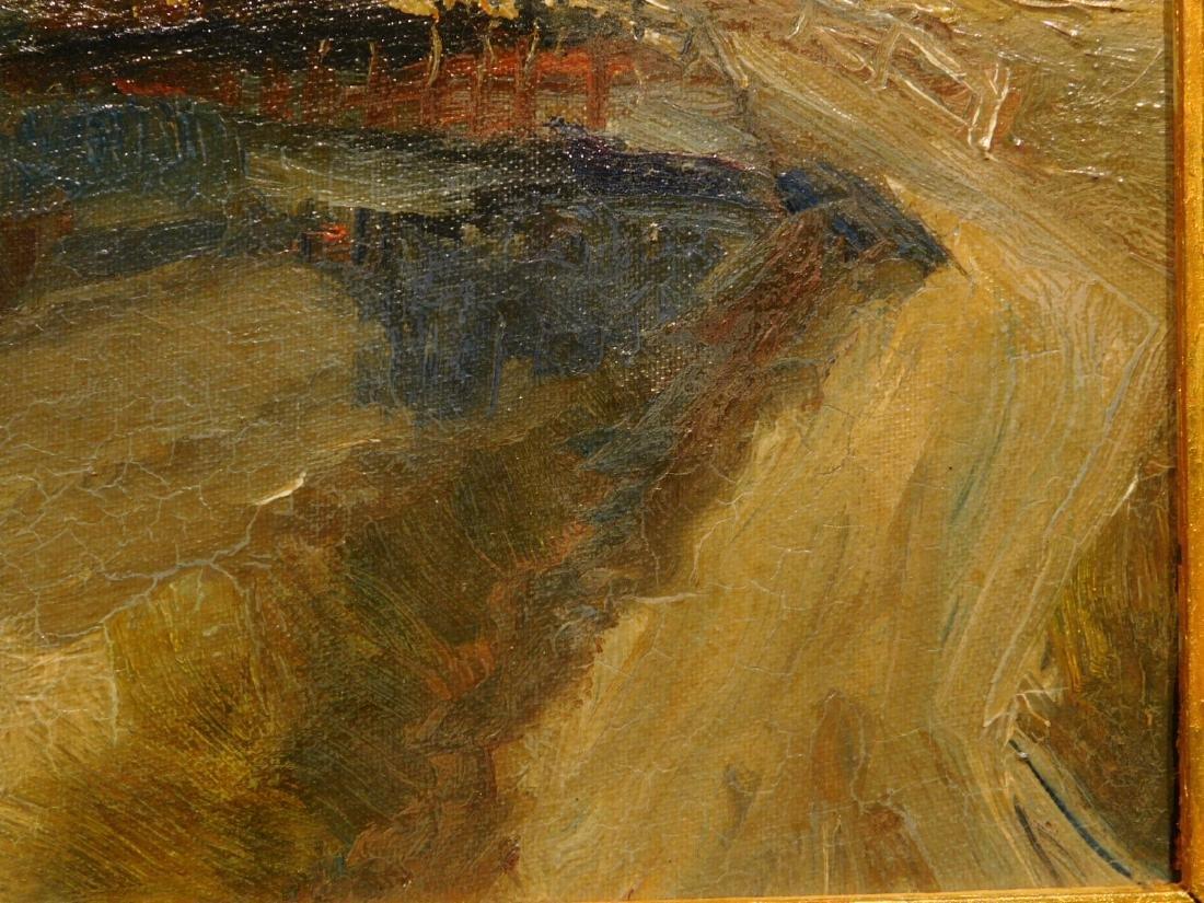 A. Metz: Farm Landscape - 9