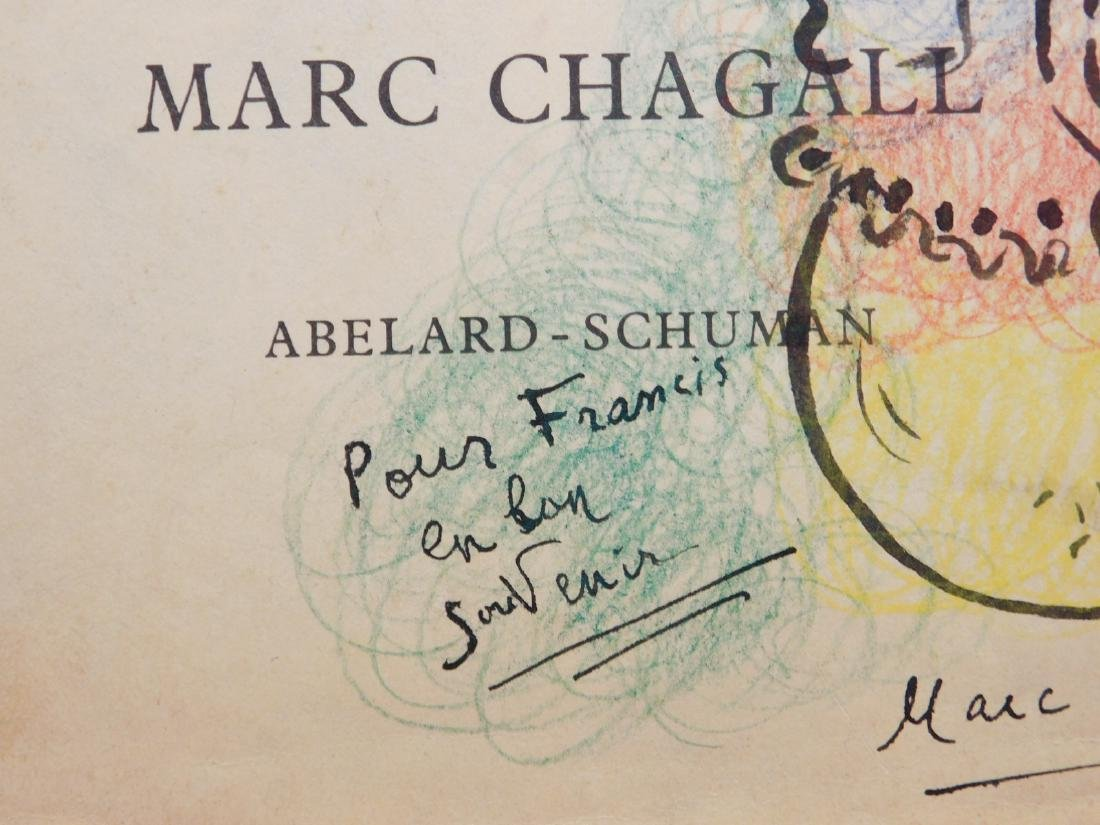 Marc Chagall: 1963 Drawing of a Violinist - 4