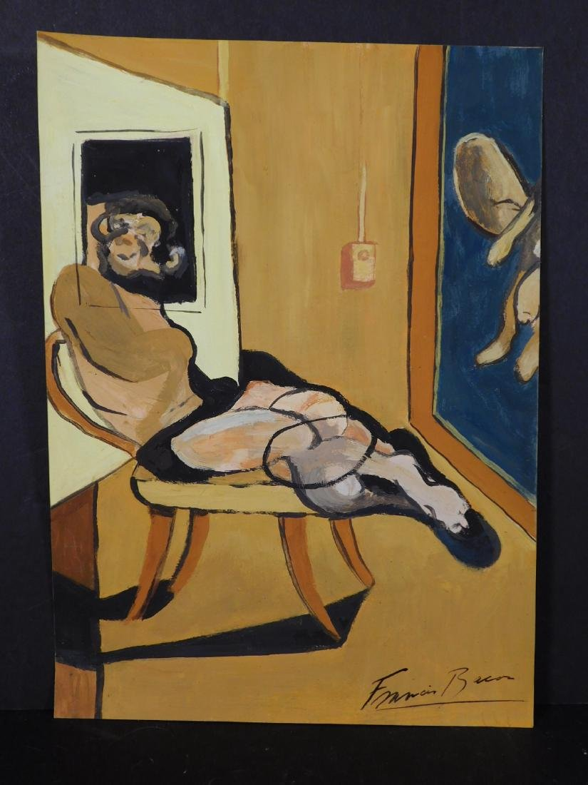 Francis Bacon: Seated Man - 2