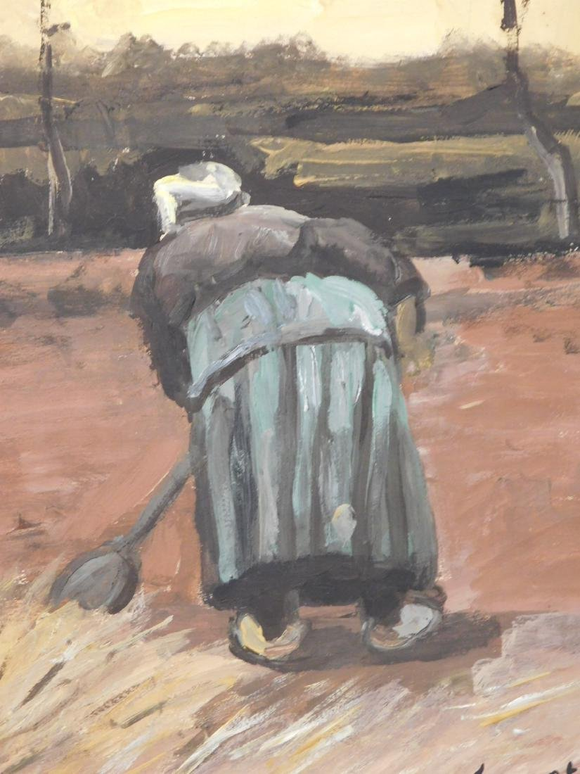 Vincent Van Gogh: Peasant Woman Digging
