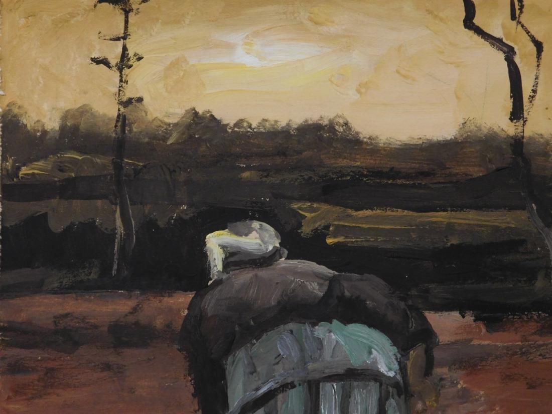 Vincent Van Gogh: Peasant Woman Digging - 6
