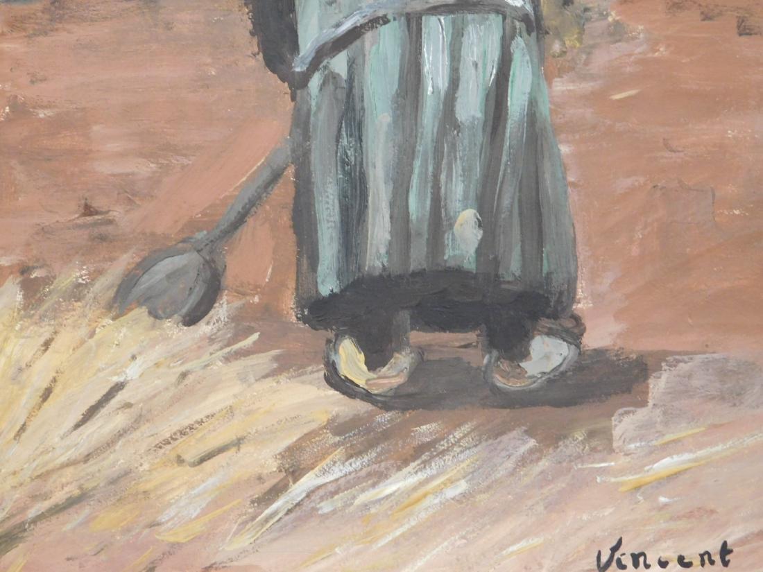 Vincent Van Gogh: Peasant Woman Digging - 7