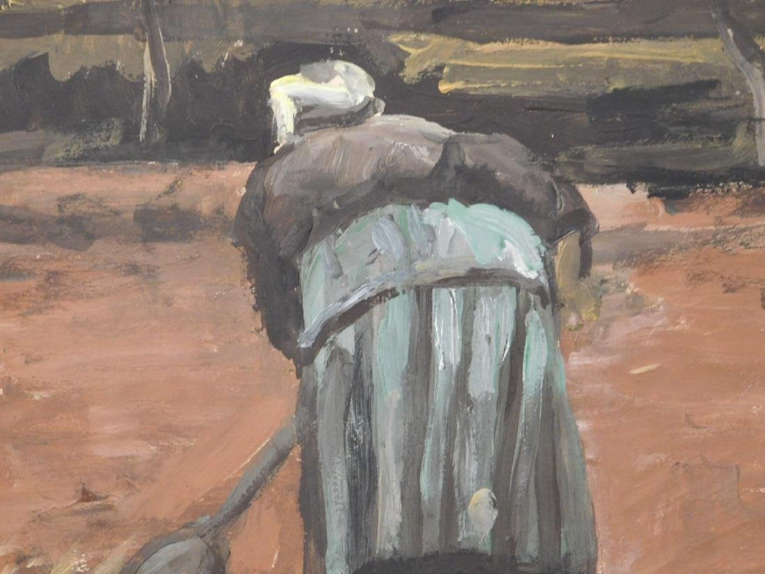 Vincent Van Gogh: Peasant Woman Digging - 8