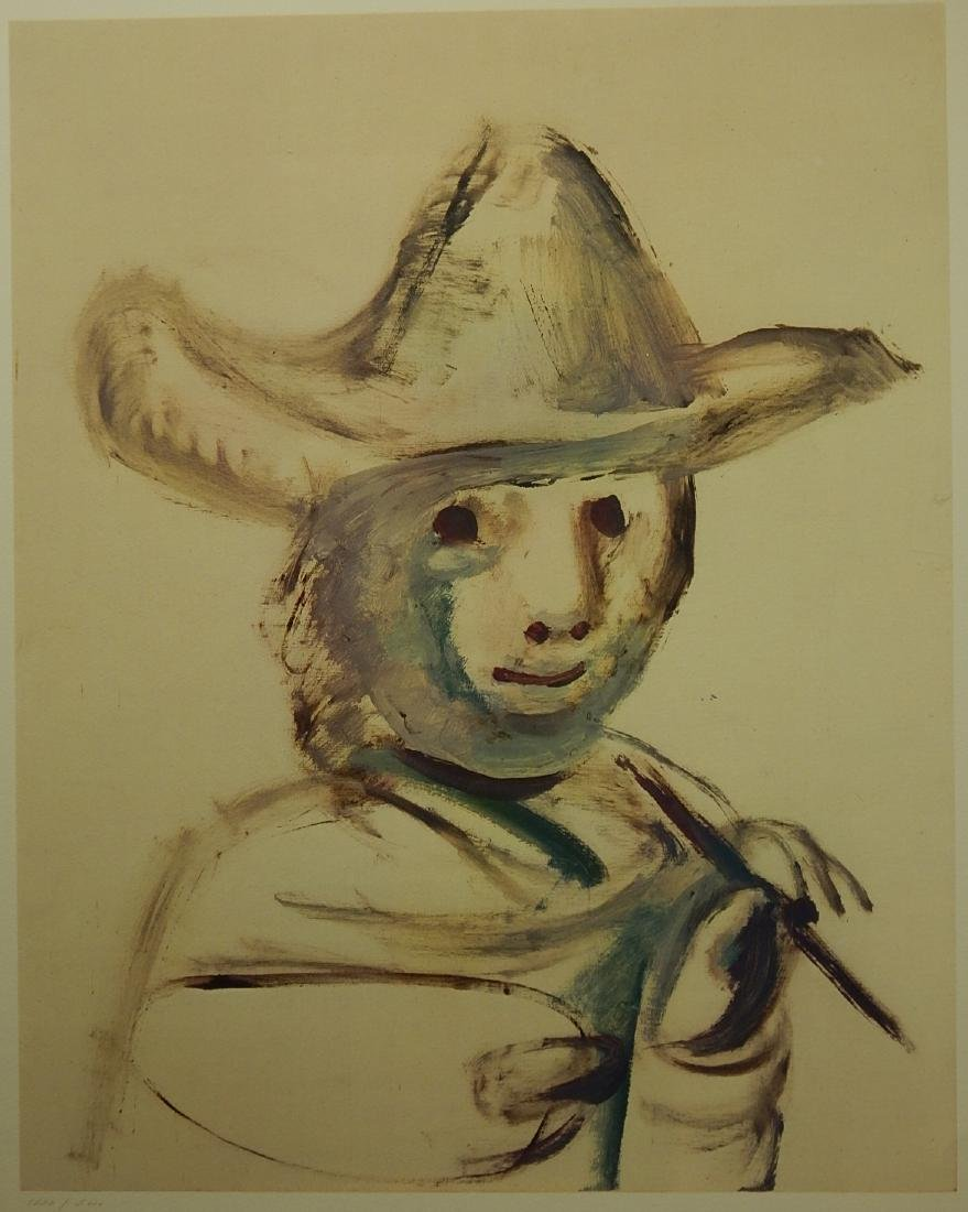 Pablo Picasso (After): The Young Painter 1972,