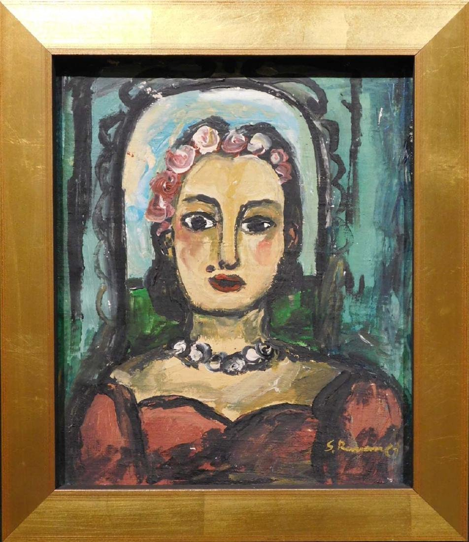 Georges Rouault: Portrait of a Woman