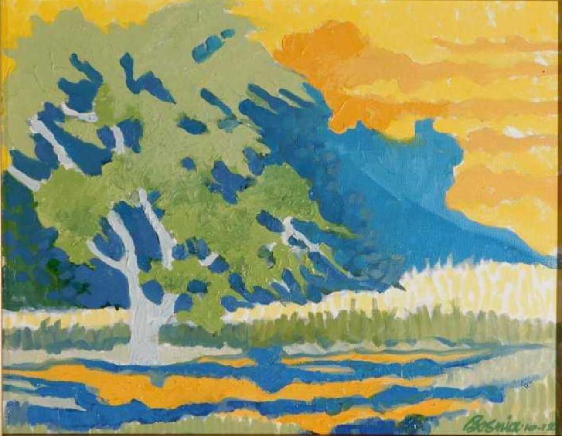 Howard Besnia: Mountain Landscape