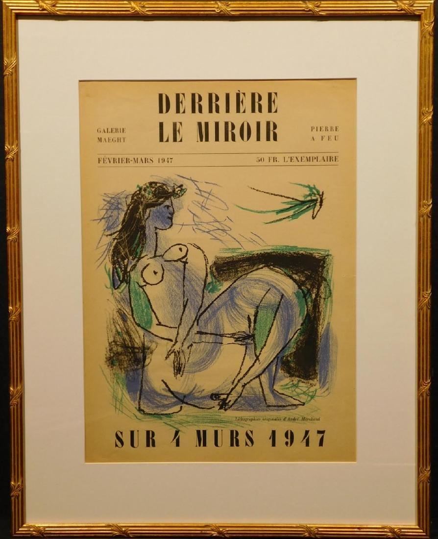 Andre Marchand: Derriere Le Miroir Cover, Original