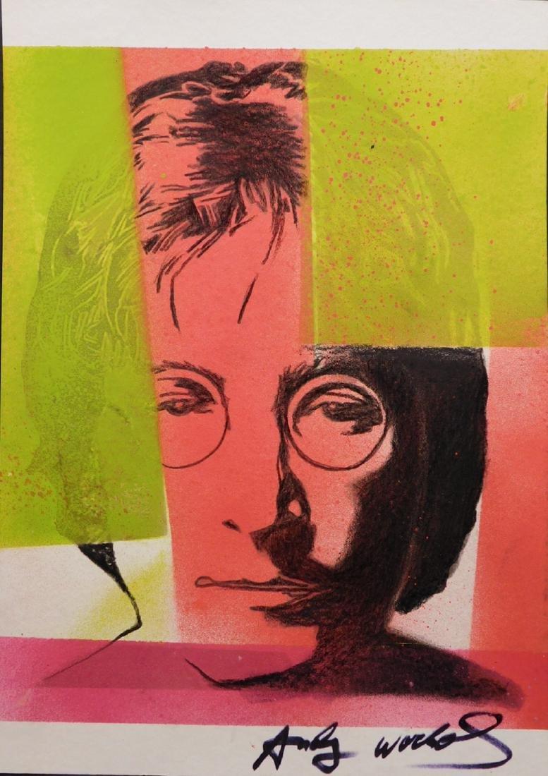 Andy Warhol: John Lennon