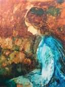 Donald Roy Purdy Portrait of a Woman