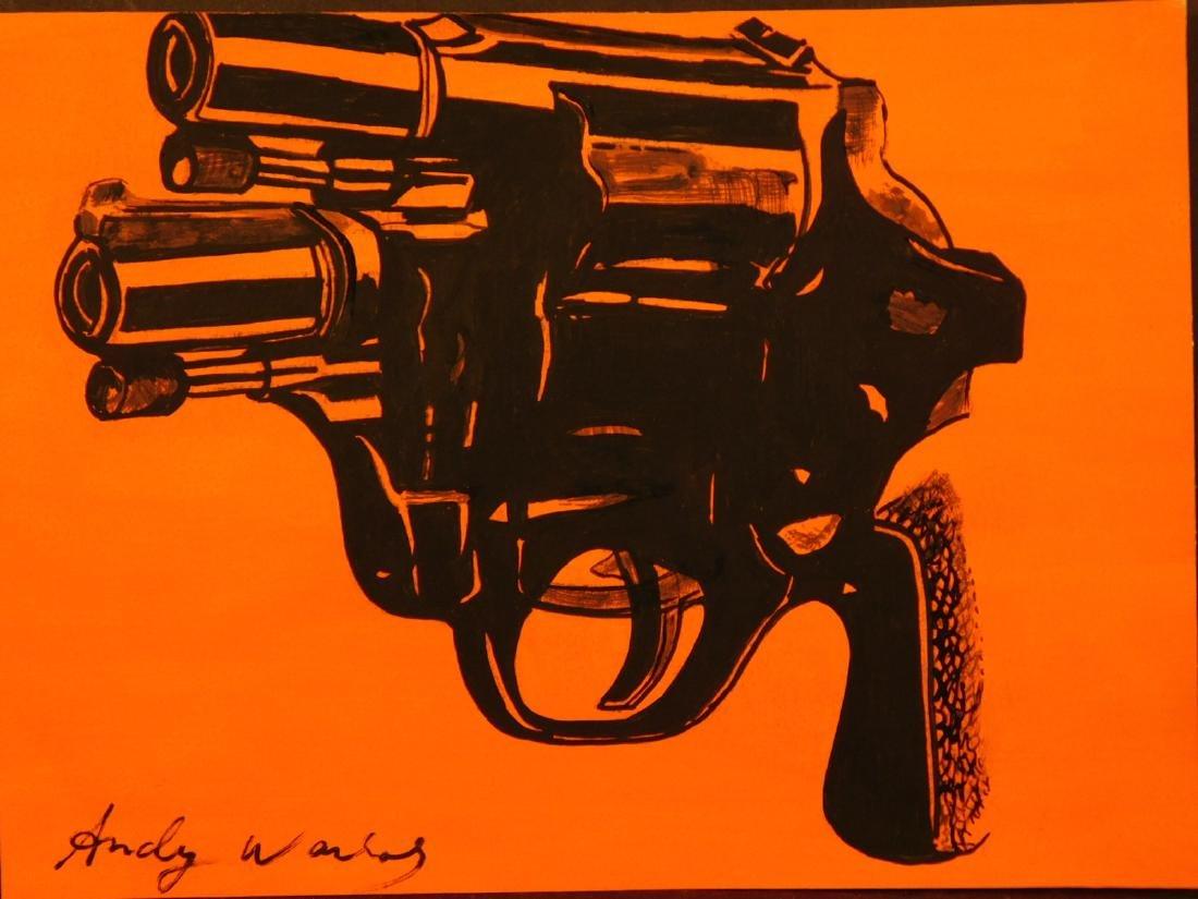 Andy Warhol: Gun