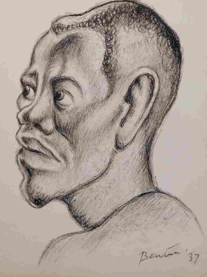 Thomas Hart Benton: Portrait of a Man