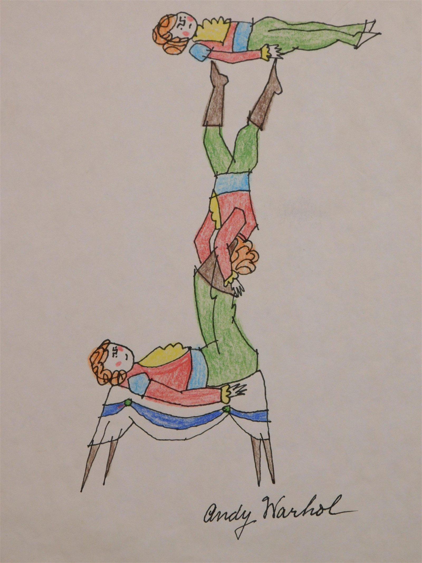 Andy Warhol: Acrobats