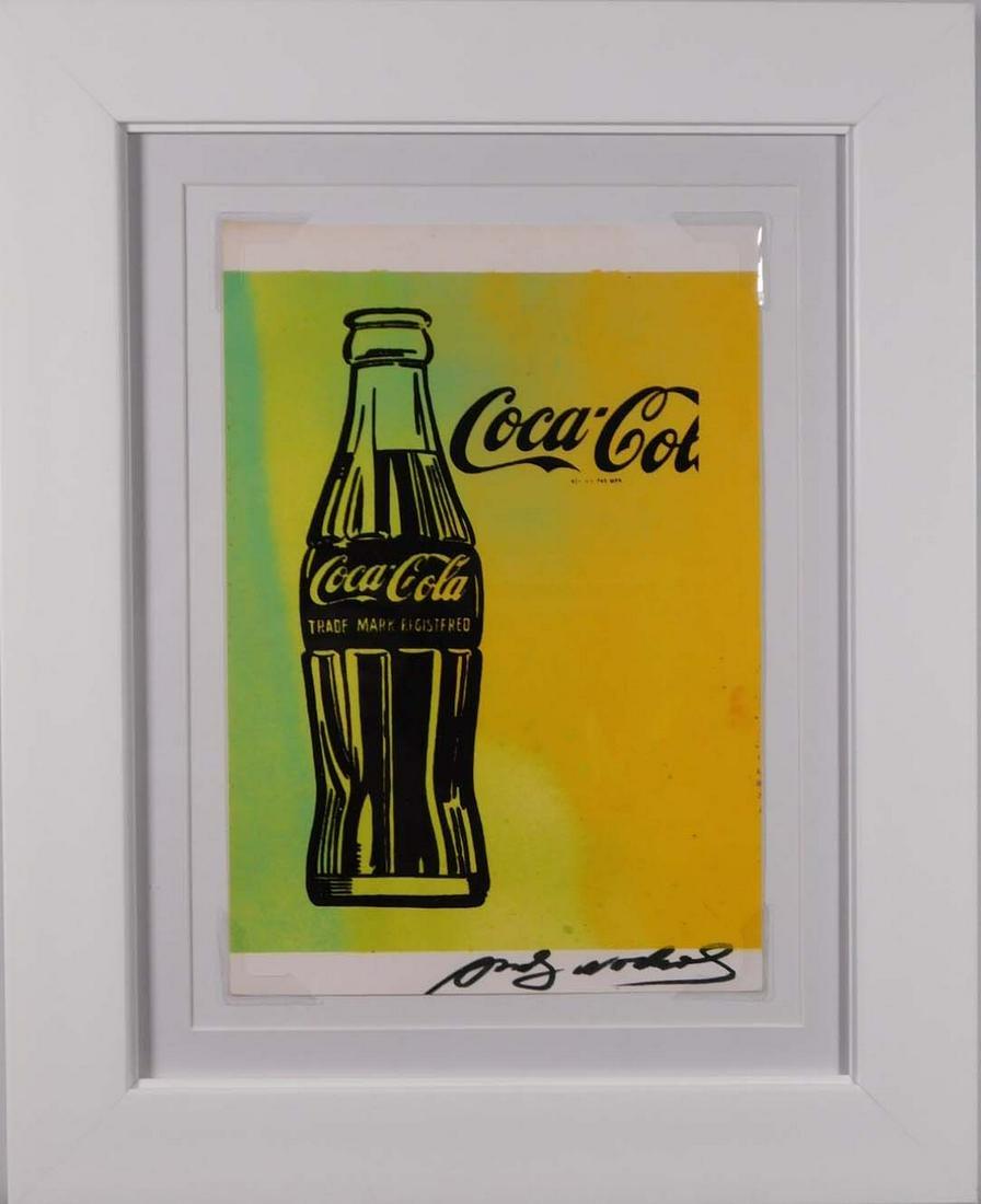 Andy Warhol: Coca Cola