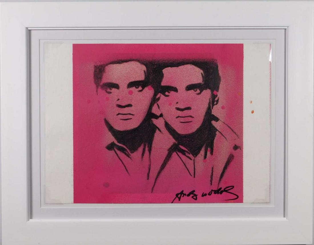 Andy Warhol: Double Elvis