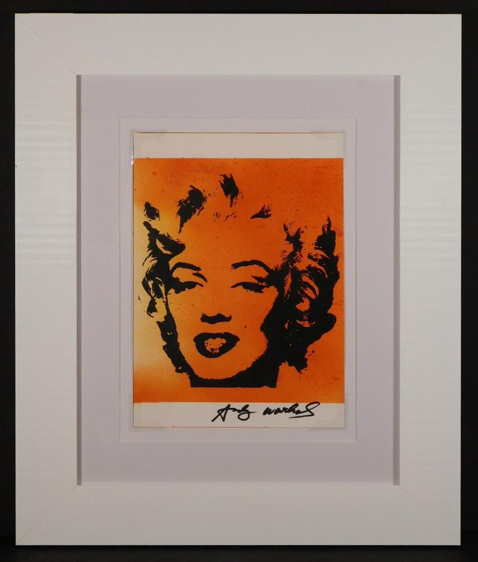 Andy Warhol: Marilyn Monroe Portrait