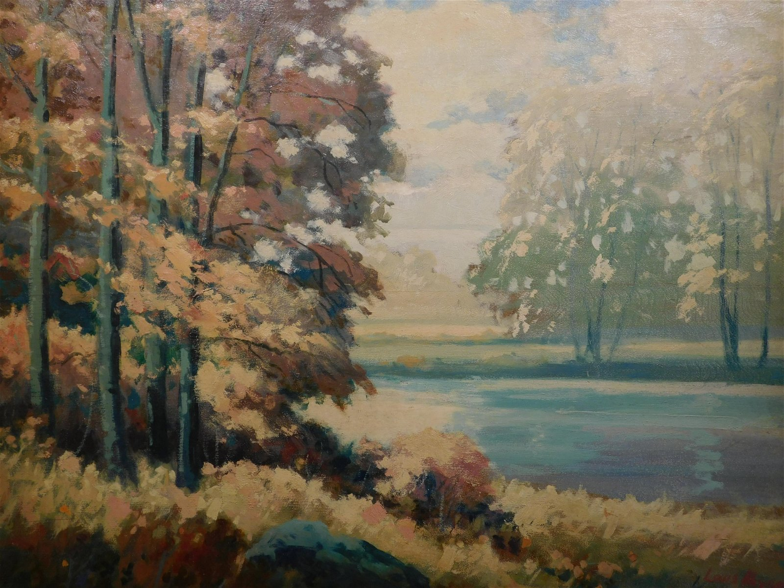 Louis Meynell: Landscape Painting