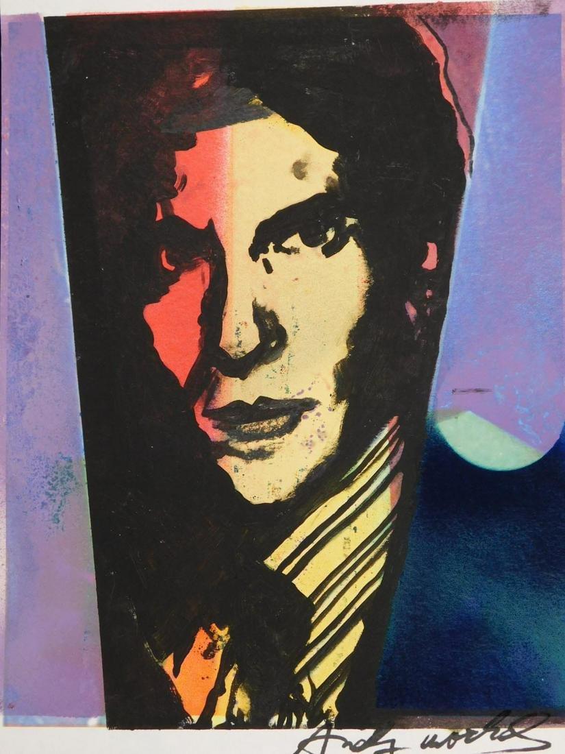 Andy Warhol: Portrait of Art Dealer Leo Castelli