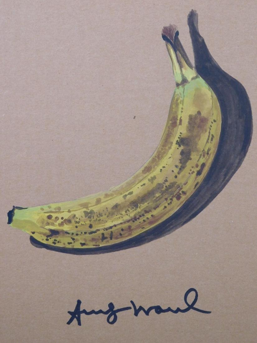Andy Warhol: Banana