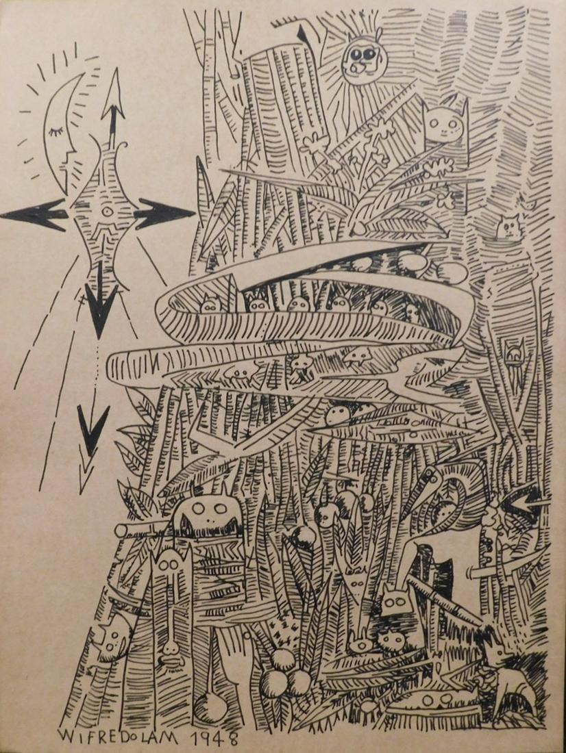 Wifredo Lam: Surreal Figures I