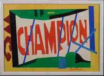 Stuart Davis: Champion