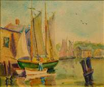Rosa T. Silva: New Bedford Sail Boats, 1930