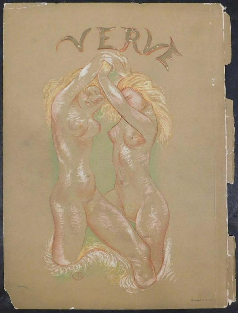 After Aristide Maillol: Verve Magazine Back Cover