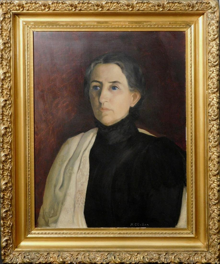 Mary Callan: Portrait of a Woman c.1910