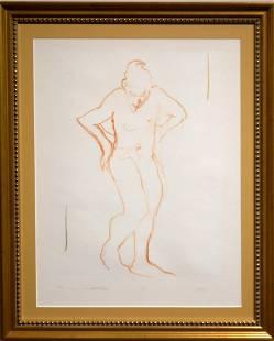 Follower of Degas Figure Study