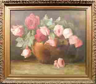 Floral Still Life with Roses